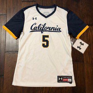 Under Armour California Bears Softball Jersey NWT